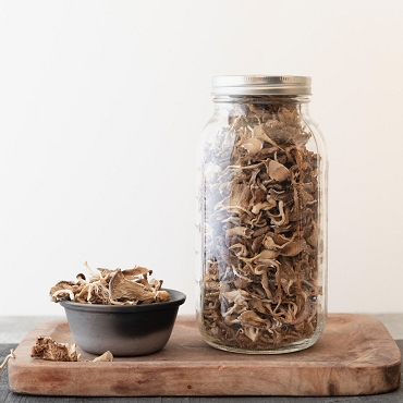 Dried Oyster Mushrooms