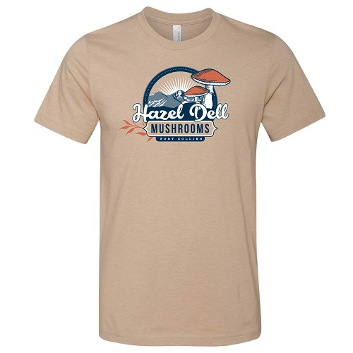 Hazel Dell Logo Shirt - Tan